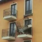 Balconi crollati, la vergogna