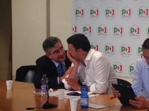 D'Alfonso e Renzi
