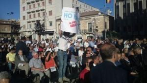 La protesta di Pescara