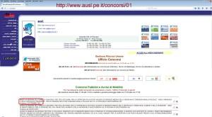La home page della Asl