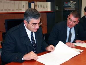 Luciano D'Alfonso e Luciano D'Amico
