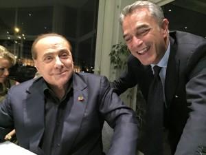 Pagano con Berlusconi