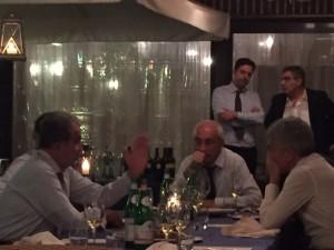 Prodi spiega, Mattoscio ascolta