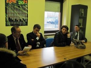 Alessandro Grimaldi con Sabrina Cicogna