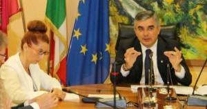 Carla Mannetti con Luciano D'Alfonso