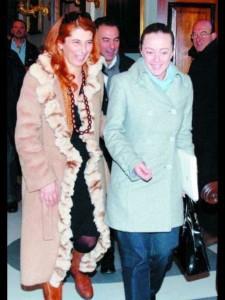 La Mannetti con Giorgia Meloni, qualche tempo fa