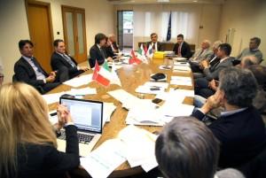 La riunione per il masterplan