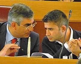 Silvio Paolucci e Luciano D'Alfonso