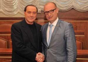Petrocco con Berlusconi