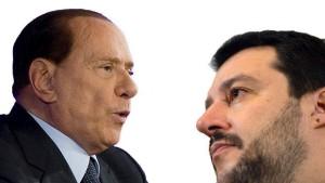 Berlusconi e Salvini