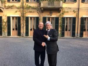 Razzi con Berlusconi ad Arcore, qualche giorno fa