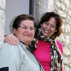 Barbara Ciarrapico (a destra)