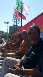 Nazario Pagano ai Giochi del Mediterraneo