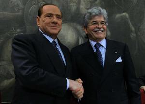 Razzi con Berlusconi