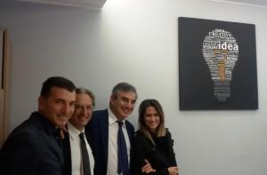 Il cda di Abruzzo sviluppo con D'Alfonso