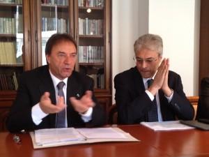 Angelo Di Paolo e Gianni Chiodi