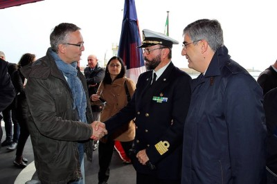 Luciano D'Alfonso ad Ancona