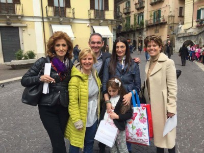 La Pelino con la Bianchi e la Casini