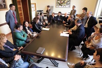 Una riunione della Fondazione
