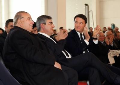 Renzi con Walter Tosto e Dalfy