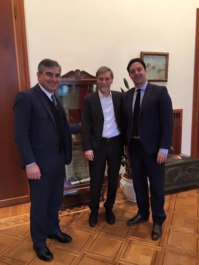 D'Alfonso, D'Alessandro e Delrio