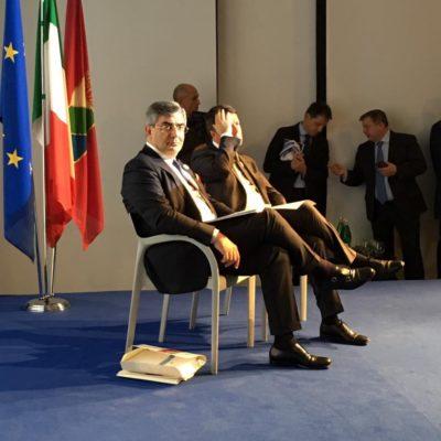 D'Alfonso e Renz i a Pescara