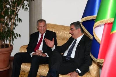 D'Alfonso con l'ambasciatore Usa