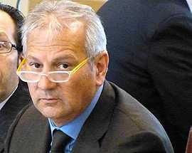 Il presidente del Consiglio regionale Giuseppe Di Pangrazio