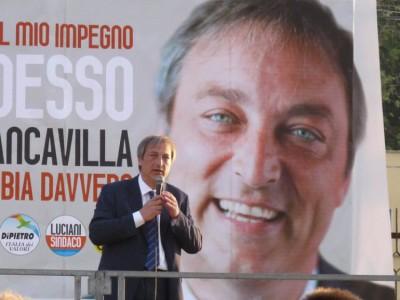 Il sindaco Antonio Luciani