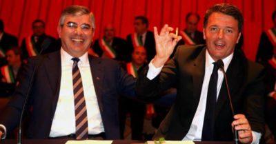 D'Alfonso e Renzi alla firma del Masterplan