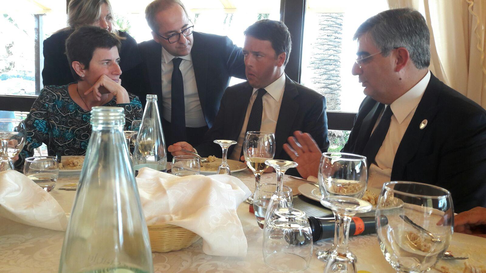 Dalfy, Renzi, Chiavaroli, Sottanelli e nascosta, la D'Incecco