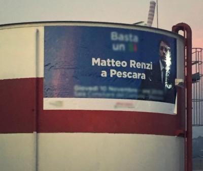 Renzi sui silos di Walter Tosto