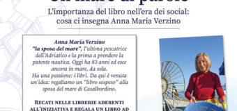 Un mare di libri per Anna Maria